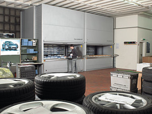 Automotive Parts Storage System